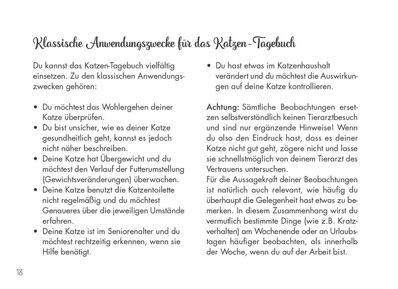 Katzen-Tagebuch Leseprobe 03
