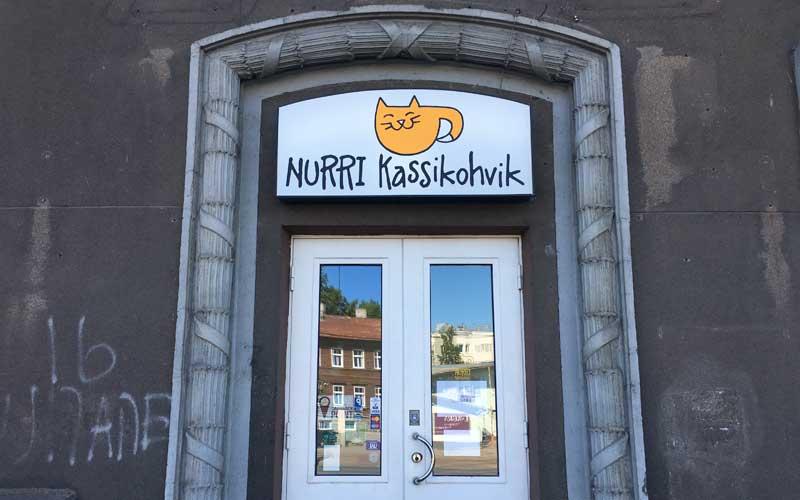 Katzencafe Nurri Kassikohvik in Tallinn