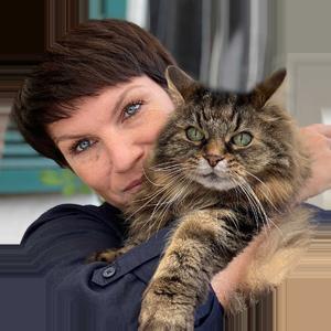 Sabine Ruthenfranz, Autorin des Buchs Katzenpflanzen und Dozentin im Onlinekurs