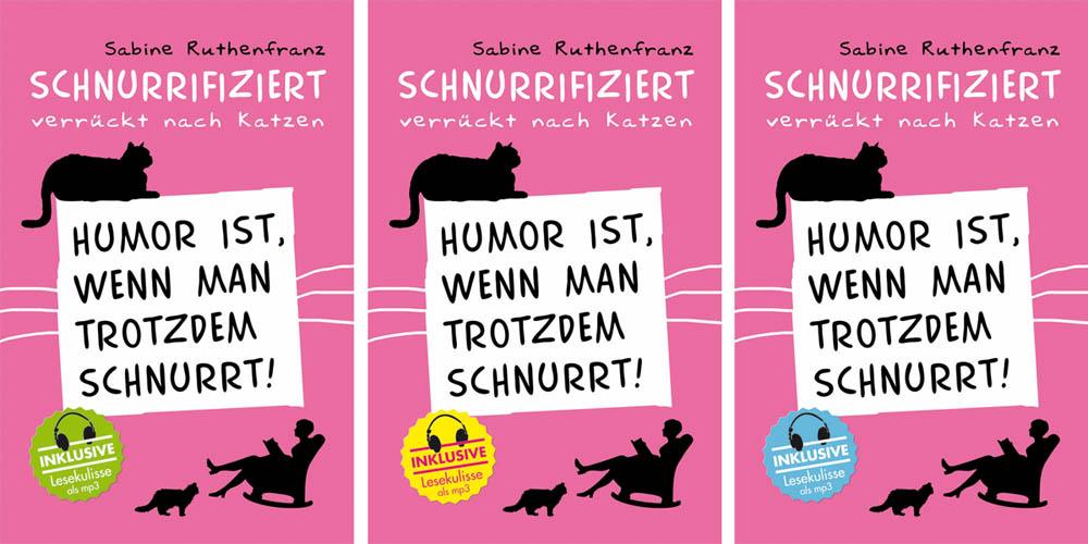 "Buchverlosung ""Schnurrifiziert – verrückt nach Katzen"""