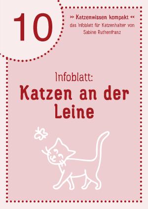 Katzenwissen-kompakt 10 - Leine
