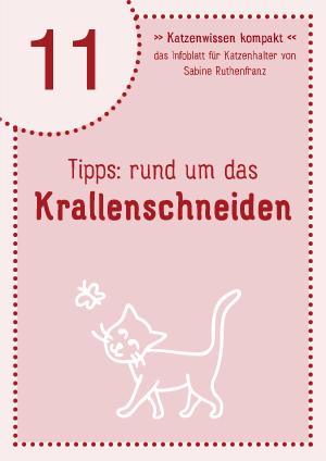Katzenwissen-kompakt 11 - Krallenschneiden