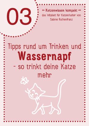 Katzenwissen-kompakt 03 - Wassernapf