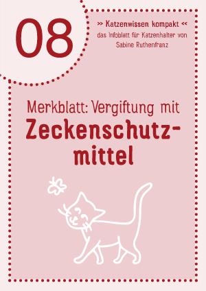Katzenwissen-kompakt 08 - Zeckenschutzmittel