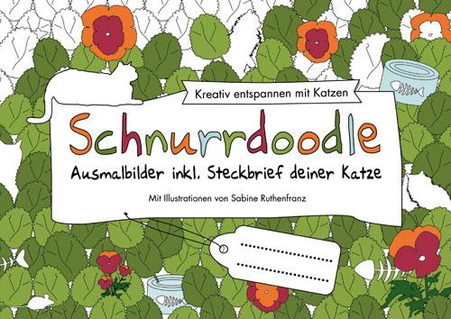 Schnurrdoodle - Ausmalbilder inkl. Steckbrief